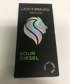 Buy Lion's Breath Sour Diesel Cartridge Sativa Online